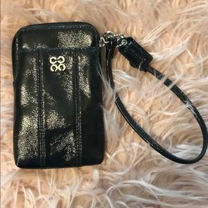 Coach phone case/ wallet